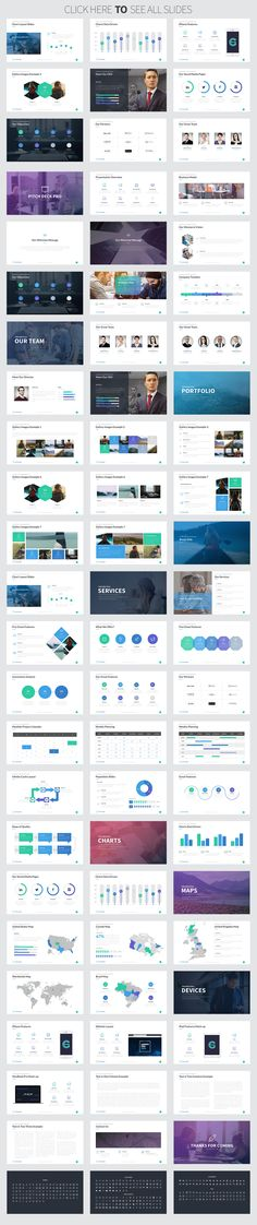 Pitch Deck Pro Keynote Template by Rocketo Graphics on @creativemarket