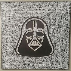 Check out this item in my Etsy shop https://www.etsy.com/listing/553000173/darth-vader-string-art