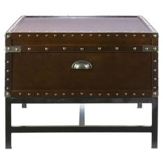 I pinned this Southport Storage Cocktail Table from the Voyageur & Co event at Joss & Main!