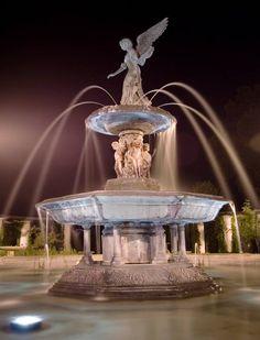 Fountain in German Park