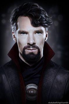 Benedict as Dr. Strange