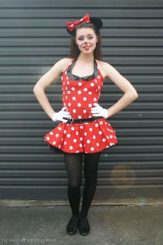 Minnie Mouse Costume for Teen Girlcountryliving Cute Halloween Costumes For Teens, Minnie Mouse Halloween Costume, Mouse Costume, Halloween Diy, Tween Costumes, Disney Costumes, Disney Halloween, Minnie Mouse Kostüm, Minnie Mouse Cartoons