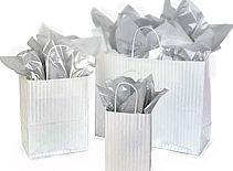 Stripe Wedding Gift Bags
