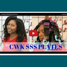 Check out how I used the @cwkgirls #sssplates to #stretch my #newgrowth and #style my #hair. Link to blog in bio to view written and video #review. ____________________________________ #blogger #bblogger #blmgirl #relaxedhair #healthyhair  #relaxedthairapy #relaxedhairjourney #relaxedhairbeauties #relaxedhaircare #relaxedgirlsrock #texlaxedhair #vlog #vlogger #teamrelaxedhair