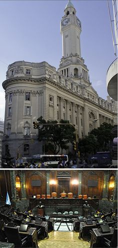 El Palacio de la Legislatura de la Ciudad de Buenos Aires houses the Government…