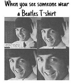 Beatles T-Shirt - Meme :)