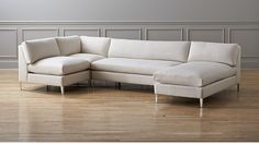cielo II 4-piece sectional sofa - Ivory | CB2