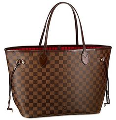 Louis Vuitton Damier Neverfull.  I LOVE THIS BAG, SO WANT ONE