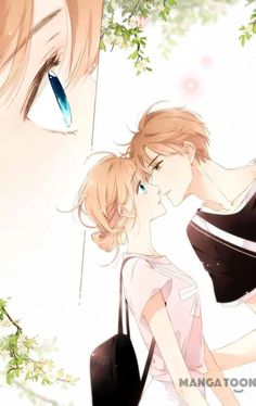 Love Like Cherry Blossom Cute Couple Drawings, Anime Couples Drawings, Anime Couples Manga, Cute Anime Couples, Anime Guys, Manga Couple, Anime Love Couple, Couple Art, Manga Art
