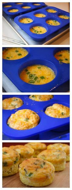 "Egg Muffins Revisited ~ ""Breakfast is the main meal of the day"", nutritionists always say. And when you're cooking breakfast you're always looking for quick and easy recipe. These super easy egg muffins are just perfect for breakfast."