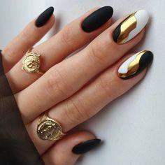 Fabulous Nails, Perfect Nails, Gorgeous Nails, Pretty Nails, Pink Tip Nails, Oval Nails, Diy Nails, Creative Nail Designs, Creative Nails