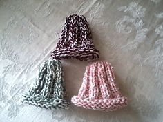 Ravelry: Super Stretchy Newborn Hat pattern by Elizabeth McMullen Stocking Stitch Knitting, Baby Knitting, Free Crochet, Knit Crochet, Crochet Hats, Baby Patterns, Crochet Patterns, Free Pattern, Simple Pattern