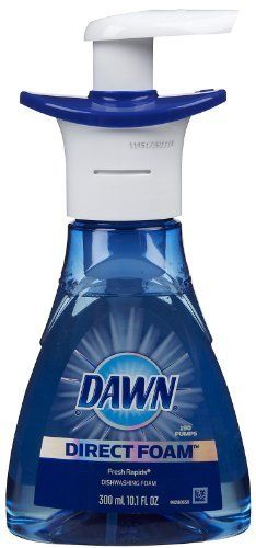use blue Dawn or Dawn Direct foam to get oil stains out of clothes - i used it on oil stains that were 6 washings old - used other remedies and no-go - this works - my new clean for the laundry room shelf Deep Cleaning, Cleaning Hacks, Cleaning Supplies, Laundry Room Shelves, Dawn Dish Soap, Oil Stains, Best Dishes, Good To Know, Helpful Hints