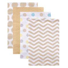 Walmart Swaddle Blankets Inspiration Hudson Baby Receiving Blankets Flannel 4Pk Boy Modern  Walmart Design Ideas