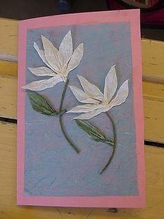 Äitienpäiväkortti Spring Art, Spring Crafts, Hobbies And Crafts, Arts And Crafts, Paper Art, Paper Crafts, School Art Projects, Mom Day, Art Lessons Elementary