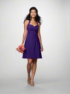Purple bridesmaid 7172