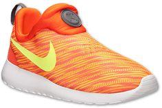 Nike Men's Roshe Run Slip On GPX Casual Shoes - Men's shoes, orange, casual, slip-on.