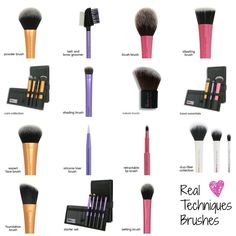 Real techniques brushes one of the best brushes out there, at a low cost.
