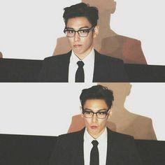 Classy, glasses, T.O.P -A