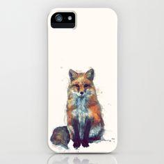 Fox iPhone Case by Amy Hamilton - $35.00