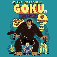 The Incredible Goku - Things Are About To Get Hairy...