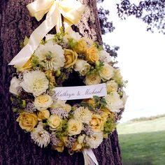 Beautiful Wedding Wreath