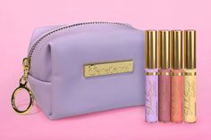 Limited Edition Posh Pastels ShadowSense Collection includes 4 different eyeshadow colors: Lilac, Buttercup Shimmer, Peaches & Mauve Shimmer.  Grab your set today to also get a Lilac SeneGence bag before they are gone forever!!  #poshpastels #pastelshadows #senegence