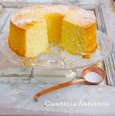 Ciambella Americana American Cake, Angel Cake, Chiffon Cake, Cake Cookies, Cornbread, Vanilla Cake, Italian Recipes, Baking, Dolce