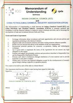 Dozerausm memorandum of understanding template form mou form industry associations indian chemical council icc mou form spiritdancerdesigns Images