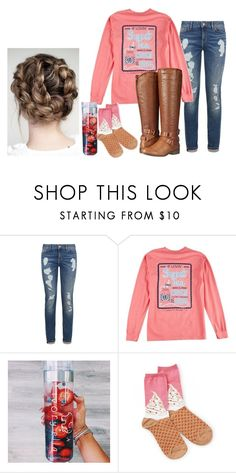 """Untitled #63"" by amaya-leigh ❤ liked on Polyvore featuring Tommy Hilfiger, Socksmith Design and Madden Girl"