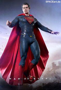 Man of Steel: Superman - Deluxe Figur, Fertig-Modell ... http://spaceart.de/produkte/sm004.php