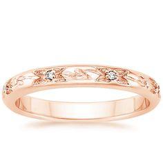 14K Rose Gold Flower Bud Ring from Brilliant Earth