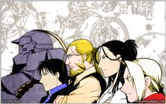 Tags: Fullmetal Alchemist, Edward Elric, Roy Mustang, Alphonse Elric, Fullmetal Alchemist Brotherhood, Izumi Curtis, Van Hohenheim