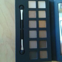Elle Smokey Eyes Palette Brand new, never used or swatched. Great neutral colours! Feel free to like, share, comment, and/or bundle! Elle Makeup Eyeshadow