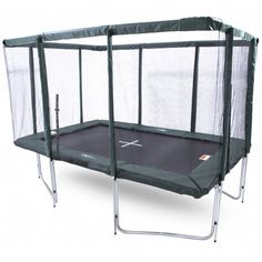GeeTramp Force Rectangle Trampoline - Standard - - - {overview}This rectangle trampoline is a great size for younger, lighter kids interested in Gymnastics or just bouncing! The suits famil Trampoline With Net, Backyard Trampoline, Flips Gymnastics, Trampolines For Sale, Young Gymnast, Frame Sizes, Bunk Beds, Things That Bounce