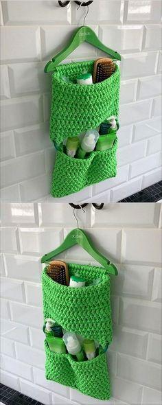 Easy Crochet Ideas For Useful Crochet Creations - DIY Beauty Projects Ideen Beau Crochet, Crochet Diy, Easy Crochet Projects, Crochet Home, Crochet Gifts, Crochet Ideas, Knitting Projects, Craft Projects, Sewing Projects