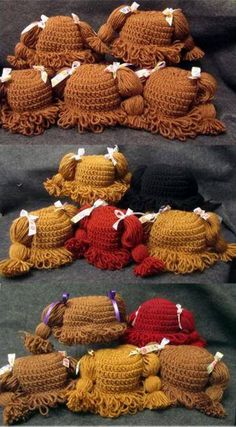 All Size Cabbage Patch Beanies Free Patterns