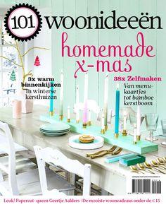 Cover Dutch creative interior magazine 101Woonideeen 12-2014