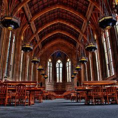 Suzzallo library of the University of Washington