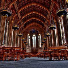 The Suzzallo library of the University of Washington in Seattle, Washington