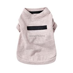 Louis Dog Cotton Sweater in Pink