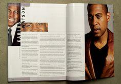 Flossin' Magazine by Carrie Voldengen, via Behance