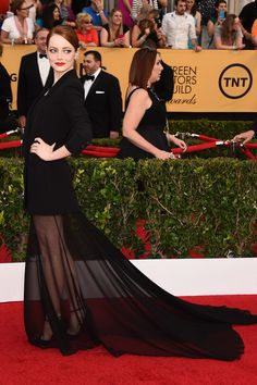 The Hollywood Reporter - SAG Awards 2015: The Top 10 Best-Dressed