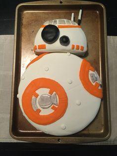 bb8 cake flat round - Google Search