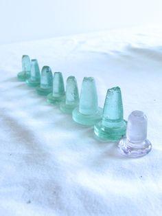 old glass bottle tops www.coastalvintage.com.au