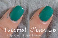 Manicure clean up tutorial