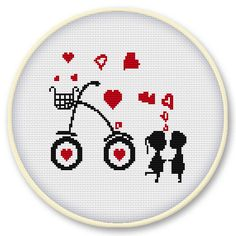 Instant digital download Counted cross stitch pattern by Subykun, $3.50
