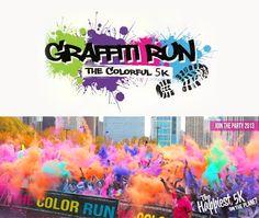 Run in Color- Graffiti Run - Doing this with Ryan and Logan hopefully :)