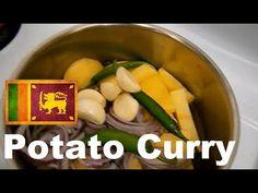 Sri Lankan Potato Curry (Simple Recipe)