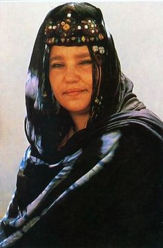 Africa   Southern woman Goulimine, Morocco   Postcard image